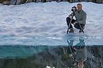Art Wolfe on location, North Cascades, Washington, USA