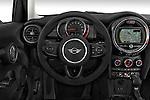Car pictures of steering wheel view of a 2015 MINI Cooper Hardtop S 4 Door Hatchback Steering Wheel