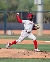 Yomil Maysonet - 2021 Arizona League Reds (Bill Mitchell)