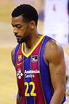 Liga ENDESA 2020/2021. Jornada: 32.<br /> FC Barcelona vs Baxi Manresa: 97-89.<br /> Cory Higgins.