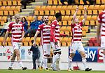 St Johnstone v Hamilton Accies…23.09.17…  McDiarmid Park… SPFL<br />Greg Docherty celebrates his goal<br />Picture by Graeme Hart. <br />Copyright Perthshire Picture Agency<br />Tel: 01738 623350  Mobile: 07990 594431