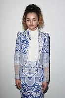 Ella Eyre<br /> at the Bora Aksu AW17 show as part of London Fashion Week AW17 at 180 Strand, London.<br /> <br /> <br /> ©Ash Knotek  D3230  17/02/2017