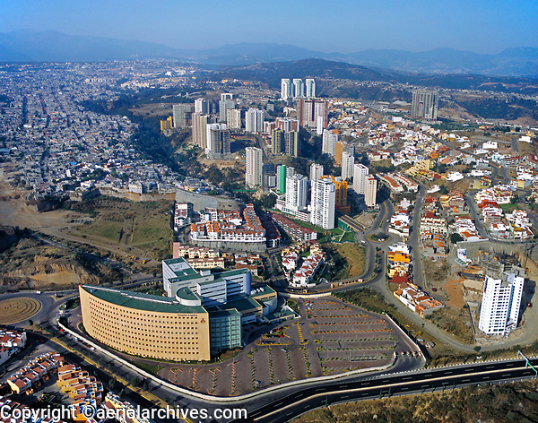aerial photograph of the Angeles Hospital, Interlomas, Mexico City, Mexico | fotografía aérea del Hospital de los Ángeles, Interlomas, Ciudad de México, México