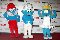 Smurfs at the Hollywood Christmas Parade 2011