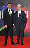 """guest and Iain Canning at the 65th BFI London Film Festival """"The Power Of The Dog"""" American Express gala, Royal Festival Hall, Belvedere Road, on Monday 11th October 2021, in London, England, UK. <br /> CAP/CAN<br /> ©CAN/Capital Pictures"""