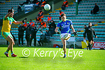 David Clifford, Kerry in action against Daire Ó Baoill, Donegal during the Allianz Football League Division 1 Round 7 match between Kerry and Donegal at Austin Stack Park in Tralee on Saturday.