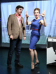 """Greg Zuccolo and Heather Litteer from the Cast of """"Tony Stinkmetal's SlashR""""on September 14, 2018 at the Gene Frankel Theatre in New York City."""