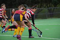 Counties Manukau v Southland. 2021 National Women's Under-18 Hockey Tournament day five at National Hockey Stadium in Wellington, New Zealand on Thursday, 15 July 2021. Photo: Dave Lintott / lintottphoto.co.nz https://bwmedia.photoshelter.com/gallery-collection/Under-18-Hockey-Nationals-2021/C0000T49v1kln8qk