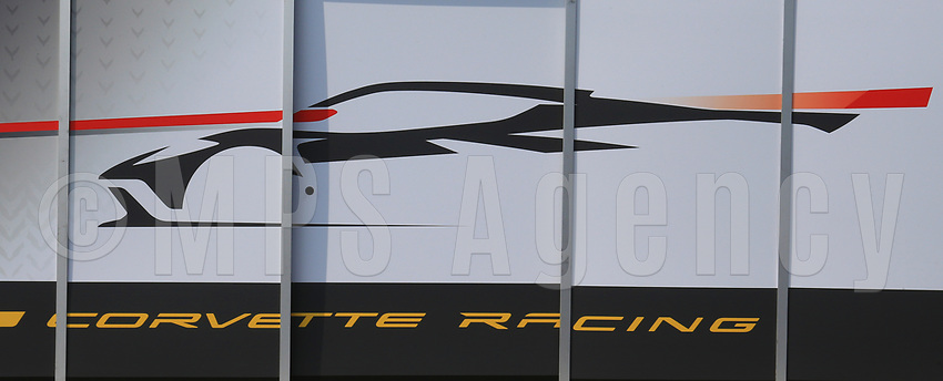 PADDOCK STRUCTURE CORVETTE RACING (USA) CHEVROLET CORVETTE C8.R LMGTE PRO