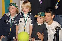 20-2-07,Tennis,Netherlands,Rotterdam,ABNAMROWTT, autographsession with Djokovic