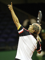 18-2-06, Netherlands, tennis, Rotterdam, ABNAMROWTT, Qualifying round, Rainer Eitzinger