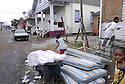 Children play in their nearly abandoned 7th Ward neighborhood in New Orleans, Fri., Jan. 19, 2007....