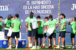 Getafe CF's players during training session. October 6,2021.(ALTERPHOTOS/Acero)