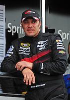 Feb 22, 2009; Fontana, CA, USA; NASCAR Sprint Cup Series driver David Stremme during the Auto Club 500 at Auto Club Speedway. Mandatory Credit: Mark J. Rebilas-