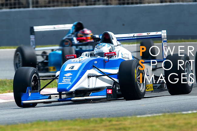 Martin Rump of Estonia and Cebu Pacific Air by KCMG drives during the Formula Masters China Series as part of the 2015 Pan Delta Super Racing Festival at Zhuhai International Circuit on September 20, 2015 in Zhuhai, China.  Photo by Aitor Alcalde/Power Sport Images