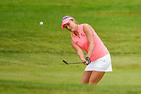 16th July 2021, Midland, MI, USA;  Lexi Thompson (USA) chips on to 3 during the Dow Great Lakes Bay Invitational Rd3 at Midland Country Club on July 16, 2021 in Midland, Michigan.