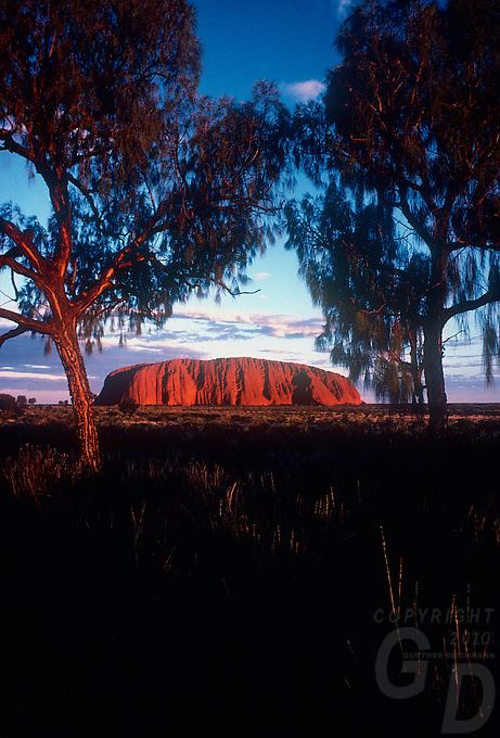Ayers Rock Uluru National Park, Central Australia