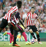 Athletic de Bilbao's Aritz Aduriz during La Liga match. August 28,2016. (ALTERPHOTOS/Acero)