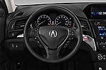 Car pictures of steering wheel view of a 2019 Acura ILX Premium 4 Door Sedan