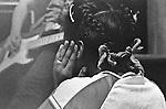 Audience reaction to Minor Threat at Patrick Henry Elementary School Fair, Arlington VA, May 15,1982.