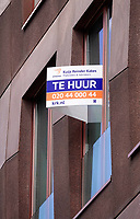 Nederland - Amsterdam - Juli 2020.    Te huur.  Foto ANP / Hollandse Hoogte / Berlinda van Dam