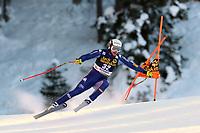 19th December 2020; Saslong, Val Gardena, Tyrol, Italy; International Ski Federation Alpine Ski World Cup, 2nd Men's Downhill, Val Gardena; Emanuele Buzzi from Italy
