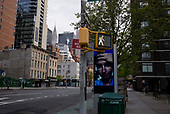 April 21, 2020<br /> New York, New York<br /> <br /> Signs for healthcare workers near NYU Medical Center and Tisch Hospital during the coronavirus pandemic.