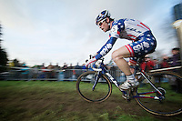 Stars & Stripes Jonathan Page (USA)<br /> <br /> Vlaamse Druivencross Overijse 2013