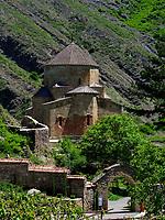Sionikirche in Didi Ateni im Tana-Tal, Samzche-Dschawacheti, Georgien, Europa<br /> Sioni church in Didi Ateni, Tana Valley, Samzche-Dschawacheti,  Georgia, Europe