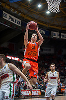 VALENCIA, SPAIN - NOVEMBER 3: Vladimir Lucic during EUROCUP match between Valencia Basket Club and CAI Zaragozaat Fonteta Stadium on November 3, 2015 in Valencia, Spain