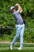 5th June 2021; Dublin, Ohio, USA; Bo Hoag (USA) watches his tee shot on 15 during the Memorial Tournament Rd3 at Muirfield Village Golf Club on June 5, 2021 in Dublin, Ohio.