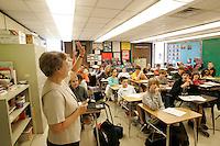 classroom children teacher