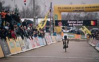 victory for CX World Champion Sanne Cant (BEL/Iko-Beobank)<br /> <br /> Women's Race<br /> Superprestige Zonhoven (BEL) 2018