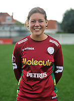 20130824 - Zulte , Belgium : Frauke Timmerman  , Saturday 24 August 2013. Teampictures <br /> PHOTO DAVID CATRY / Nikonpro.be