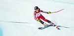 Mel Pemble, PyeongChang 2018 - Para Alpine Skiing // Ski para-alpin.<br /> Mel Pemble skis in the super combined // Mel Pemble skis dans le super combiné. 13/03/2018.