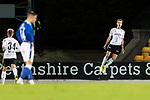 St Johnstone v Lask…26.08.21  McDiarmid Park    Europa Conference League Qualifier<br />Marko Raguz celebrates his penalty<br />Picture by Graeme Hart.<br />Copyright Perthshire Picture Agency<br />Tel: 01738 623350  Mobile: 07990 594431