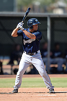Milwaukee Brewers outfielder Eric Williams (35) during an Instructional League game against the Los Angeles Angels on October 11, 2013 at Tempe Diablo Stadium Complex in Tempe, Arizona.  (Mike Janes/Four Seam Images)
