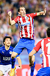 Diego Roberto Godin Leal of Atletico de Madrid in action during their 2016-17 UEFA Champions League Quarter-Finals 1st leg match between Atletico de Madrid and Leicester City at the Estadio Vicente Calderon on 12 April 2017 in Madrid, Spain. Photo by Diego Gonzalez Souto / Power Sport Images