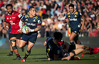 Aaron Smith in action during the 2020 Super Rugby match between the Crusaders and Highlanders at Orangetheory Stadium in Christchurch, New Zealand on Saturday, 9 August 2020. Photo: Joe Johnson / lintottphoto.co.nz