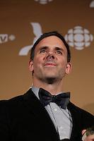 September 16 2012 - Montreal, Quebec, CANADA - Gemeaux Awards Gala - <br /><br /> - Eric Bernier