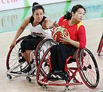 Rosalie Lalonde, Rio 2016 - Wheelchair Basketball // Basketball en fauteuil roulant.<br /> Canada vs. China in women's Wheelchair Basketball  // Le Canada contre la Chine en  basketball en fauteuil roulant féminin . 16/09/2016.