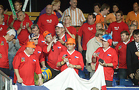 22-9-06,Leiden, Daviscup Netherlands-Tsjech Republic,Chech supporters