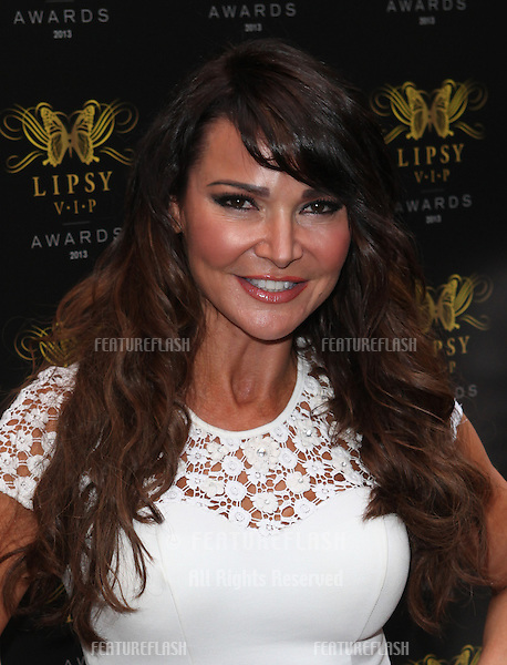 Lizzie Cundy arriving for the Lipsy Fashion Awards,  at Dstrkt, London. 29/05/2013 Picture by: Alexandra Glen / Featureflash
