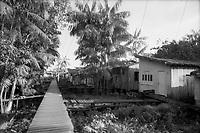 Vila da Barca.<br /> Belém, Pará, Brasil.<br /> Foto Geraldo Ramos<br /> 1990