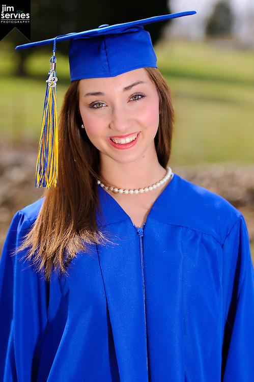 Graduation Portrait by Jim Servies Photography