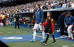 Real Madrid CF's Luka Modric during UEFA Champions League match, groups between Real Madrid and Club Brugge at Santiago Bernabeu Stadium in Madrid, Spain. October 01, 2019.(ALTERPHOTOS/Manu R.B.)