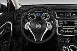Car pictures of steering wheel view of a 2017 Nissan Altima S 4 Door Sedan Steering Wheel