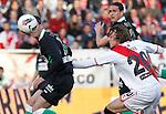 Madrid (03/03/2012).-Campo de Futbol de Vallecas..Liga BBVA..Rayo Vallecano-Real Racing Club..Torrejon, Michu...©Alex Cid-Fuentes.......
