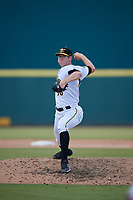 Bradenton Marauders relief pitcher Gavin Wallace (36) during a Florida State League game against the Tampa Tarpons on May 26, 2019 at LECOM Park in Bradenton, Florida.  Bradenton defeated Tampa 3-1.  (Mike Janes/Four Seam Images)