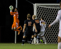 The Winthrop University Eagles lose 2-1 in a Big South contest against the Campbell University Camels.  Guilherme Avelar (31), Walker Johnson (14), Justin Franz (12), Bryce Miller (20)